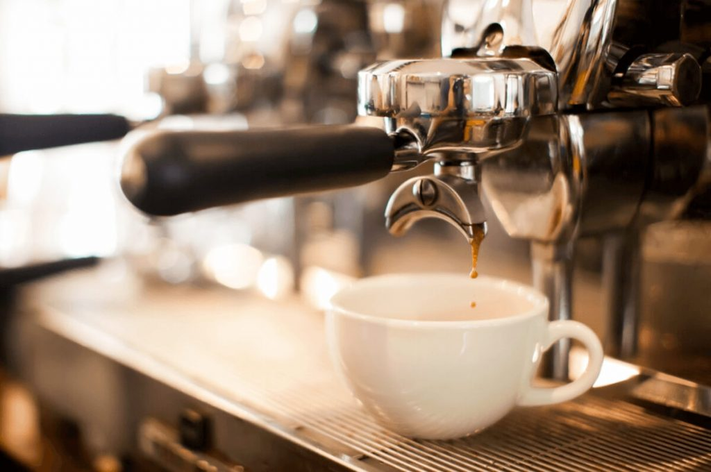 The taste of coffee from famous coffee chains